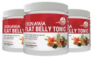 Okinawa flat belly Tonic 3 bottles