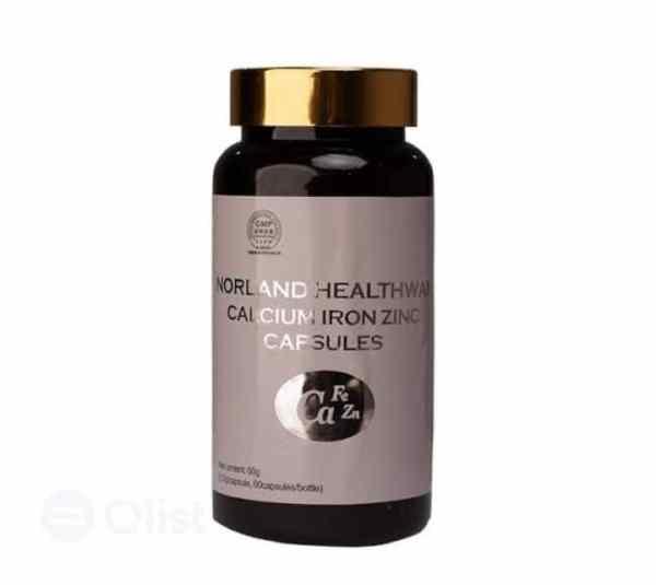 Norland HEALTHWAY CALCIUM IRON ZINC CAPSULES