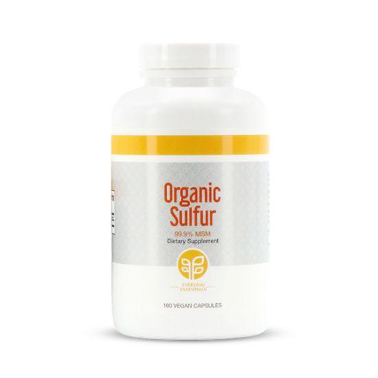 Pure Organic Sulfur, Capsules