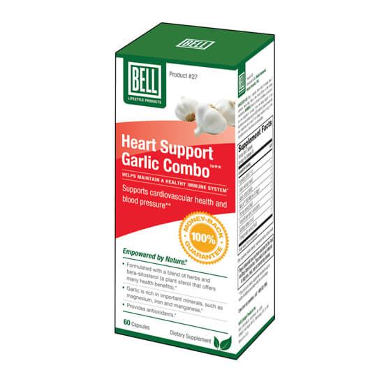 Bell Heart Support Garlic Combo