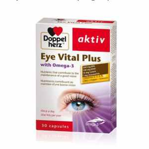 Doppelherz Eye Vital Plus with Omega 3- 30 Tabs