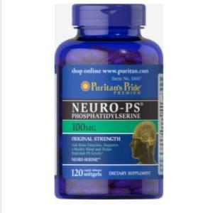 Puritan's Pride Neuro-PS (Phosphatidylserine) 100 mg - 30 Softgels