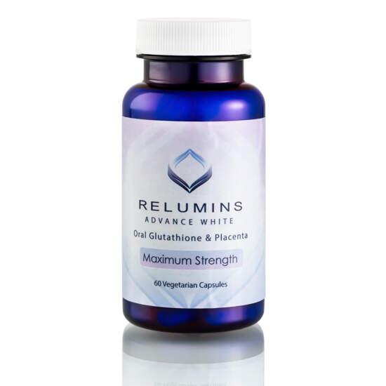 Relumins Advance White Oral Glutathione Placenta Maximum Strength Formula