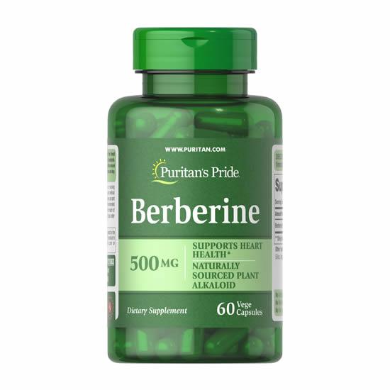 Puritan's Pride Berberine 500 mg- 60 Caps