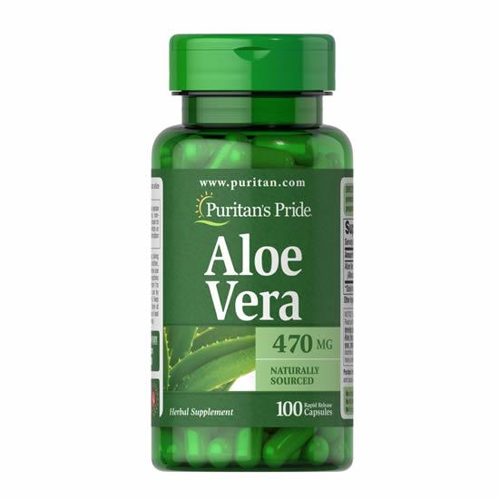 Puritan's Pride Aloe Vera 470 mg-Cap