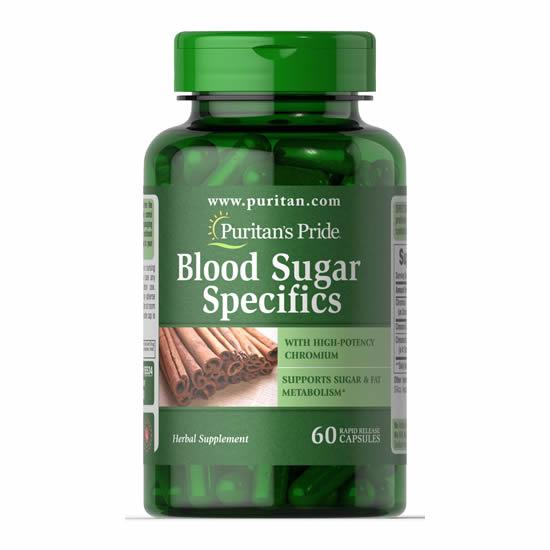 Puritan's Pride Blood Sugar Specifics - 60 Caps