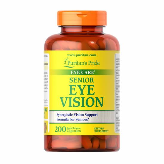 Puritan's Pride Senior Eye Vision-200 Cap