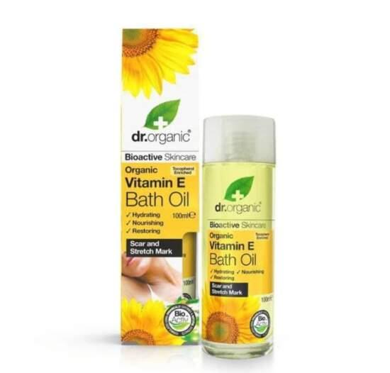 dr. organic Vitamin E Bath Oil 100ml
