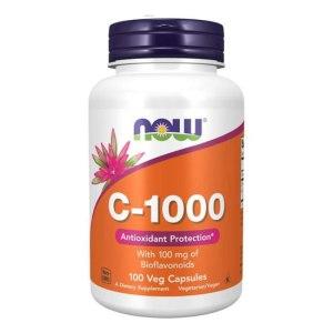 now food c-1000 with 10mg bioflavanoid