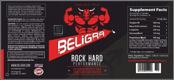 Beligra Male enhancement reviews