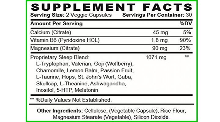 lunexia ingredients