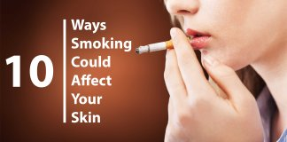 Smoking effect on Skin