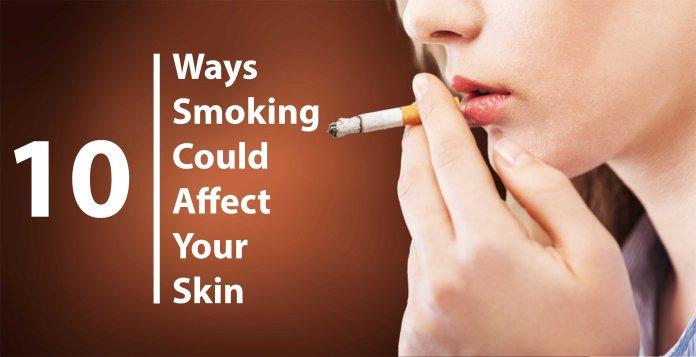 Smoking effect on Skin