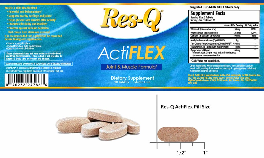 Res-Q Actiflex Ingredients