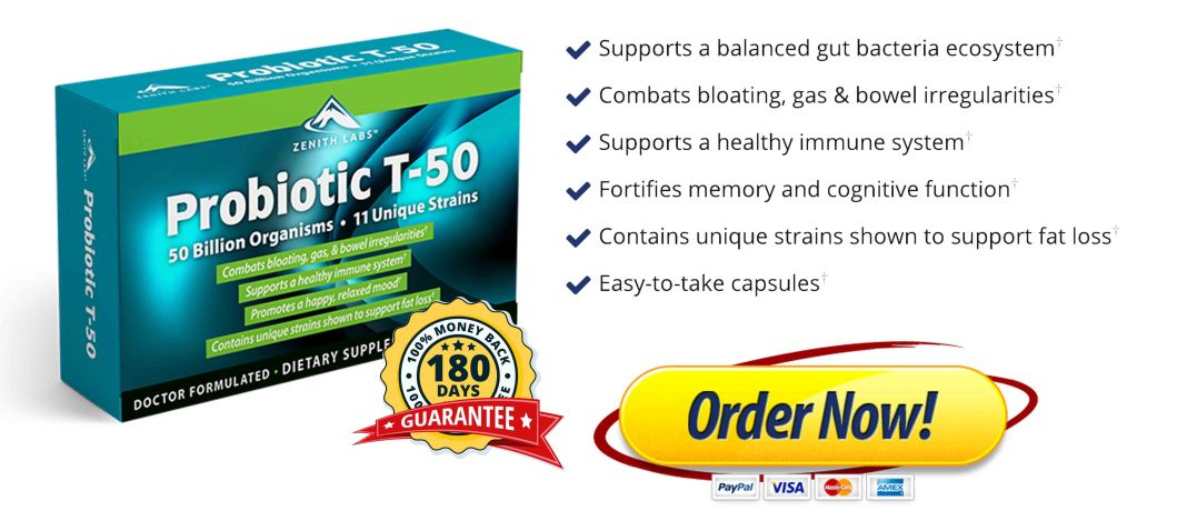 Zenith Labs Probiotic T 50 Free Trial