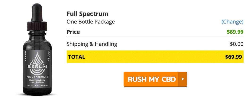 Buy Natural Serum CBD Oil