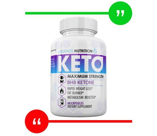 Legends Nutrition Keto Ingredients