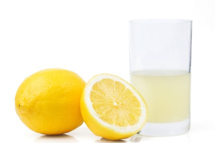 Lemon Juice can be used too