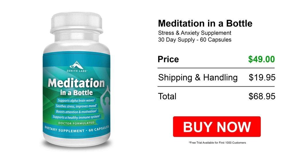 Meditation In A Bottle Free Trial