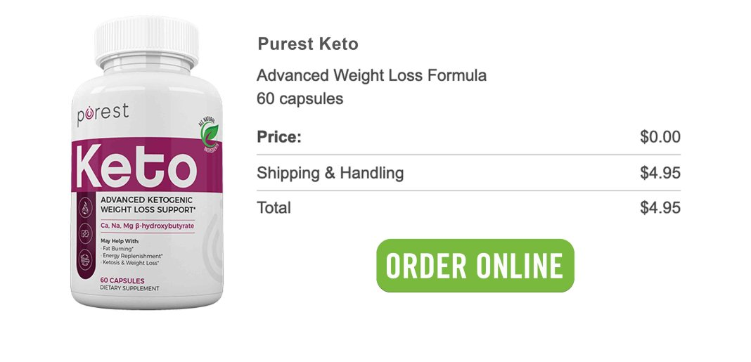 Purest Keto Free Trial