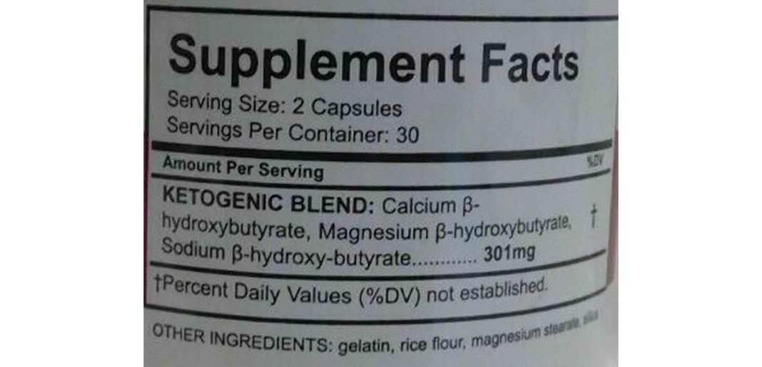 Purest Keto Ingredients