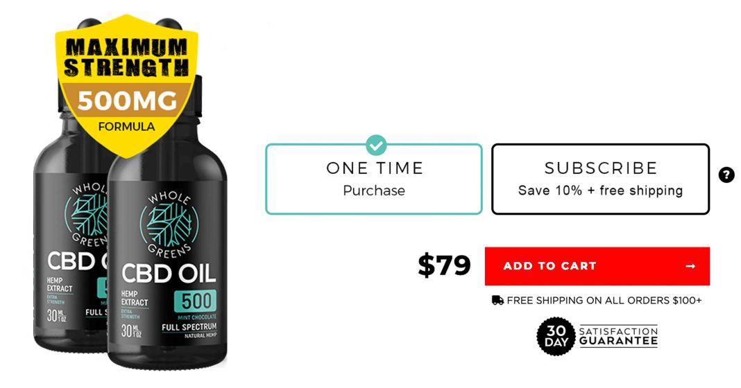 Whole Greens CBD Oil Free Trial
