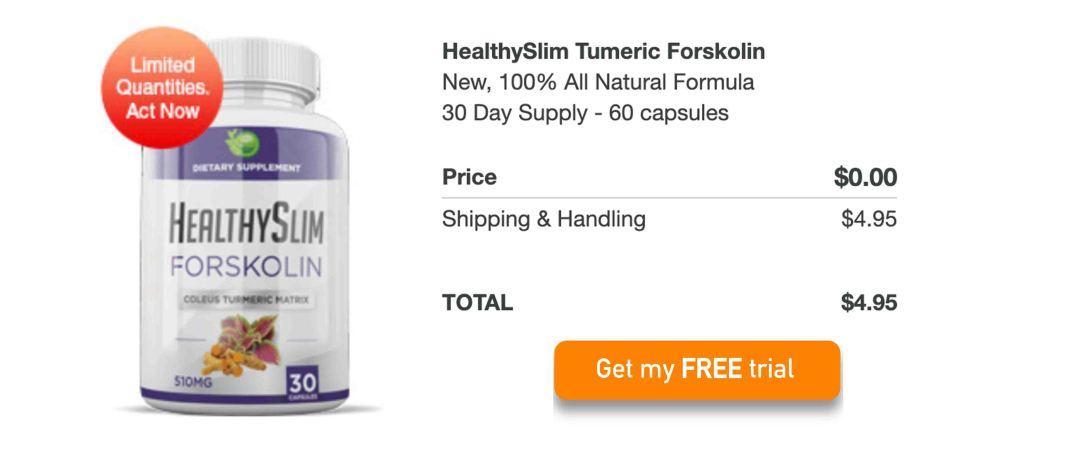 HealthySlim Turmeric Forskolin Free Trial