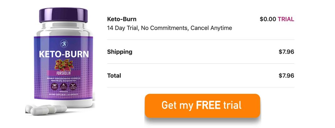 Keto Burn Forskolin Free Trial