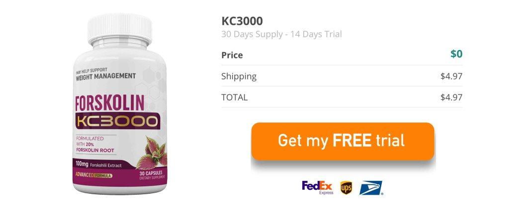 Keto KC3000 Forskolin Free Trial