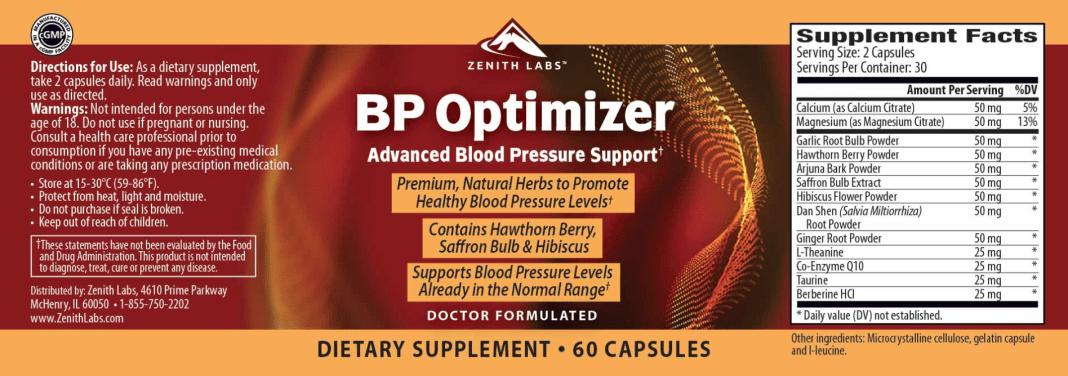 Zenith BP Optimizer Reviews