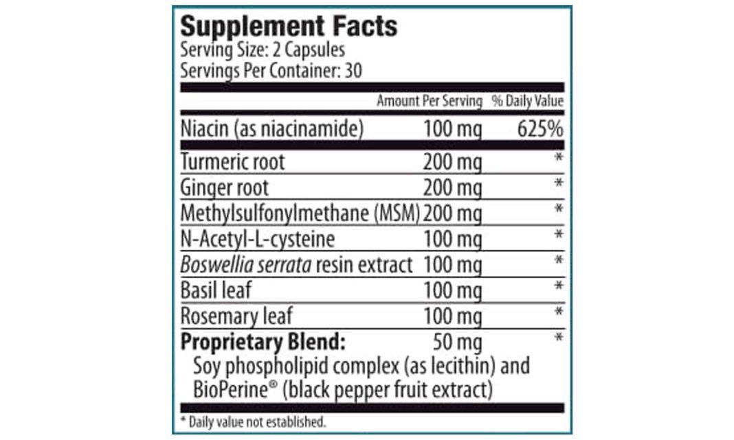Zenith Joint N 11 Ingredients