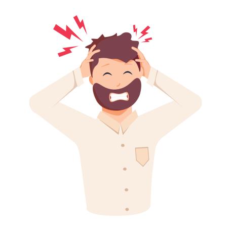 Major symptoms and sensations