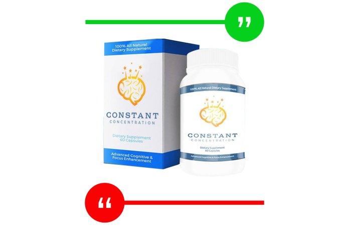 Constant Concentration Review