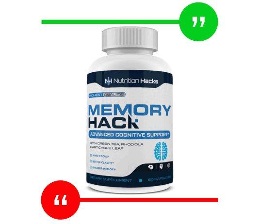 Nutrition Hacks Memory Hack review