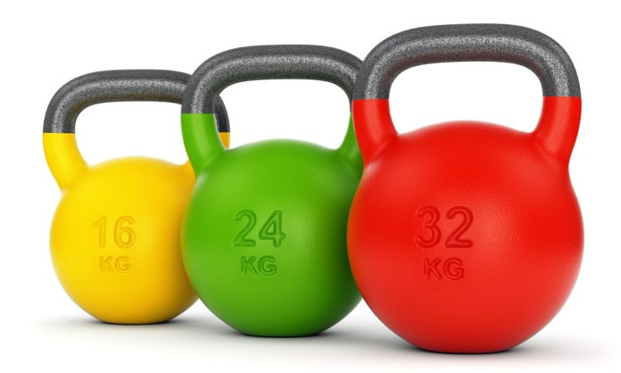kettle bells workout equipment