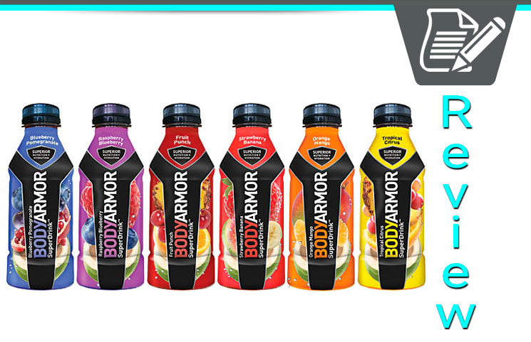 Bodyarmor Superdrink Review Healthy Natural Athletic