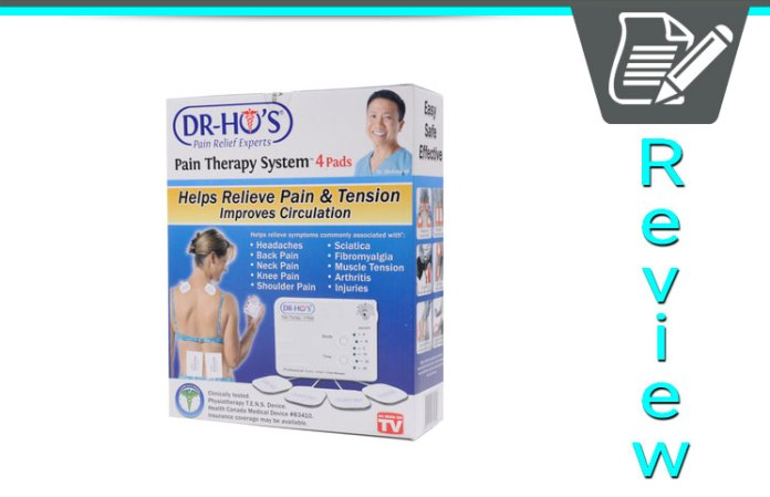 dr-ho's (2 pad) muscle pain therapy system
