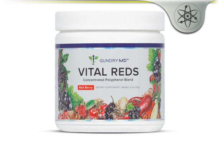 Gundry Md Vital Reds Review Polyphenol Rich Superfruit