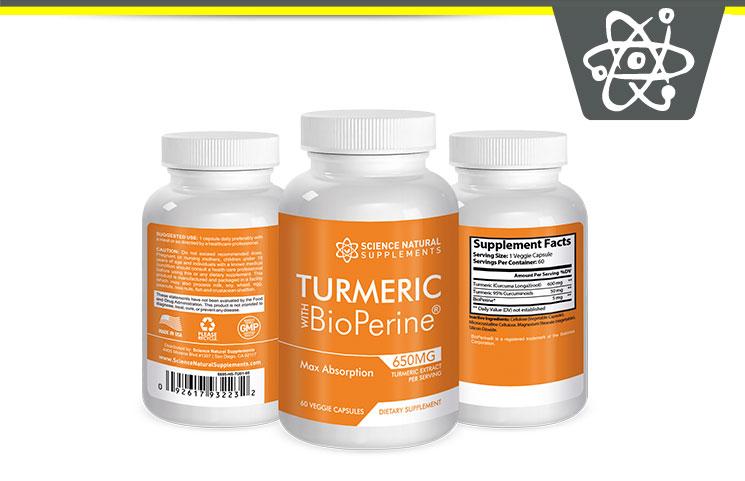 Science Natural Turmeric Bioperine