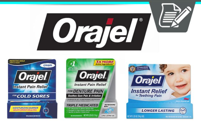 Orajel Review Healthy Oral Pain Reliever Amp Toothache