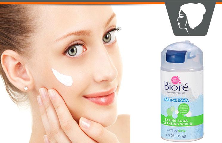 Biore Baking Soda – Gentle Skin Exfoliating Cleansing Scrub?