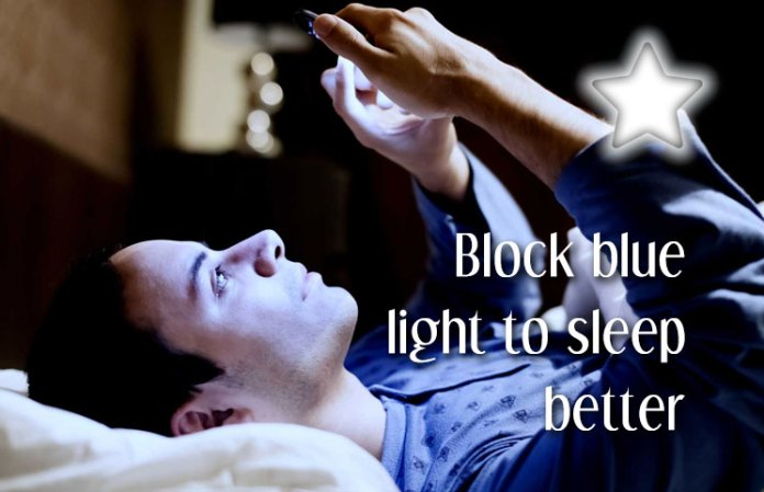 Health Benefits Of Blocking Blue Light To Sleep Better During The Night