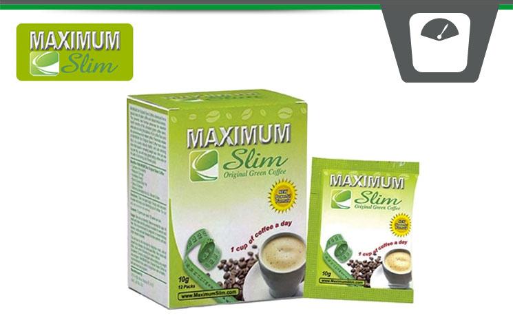 maximum slim groene koffie