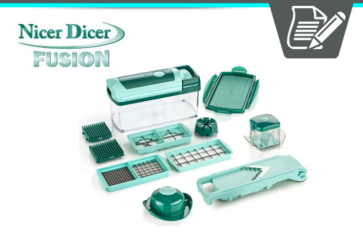 genius nicer dicer fusion review smart multi kitchen chopper slicer set. Black Bedroom Furniture Sets. Home Design Ideas
