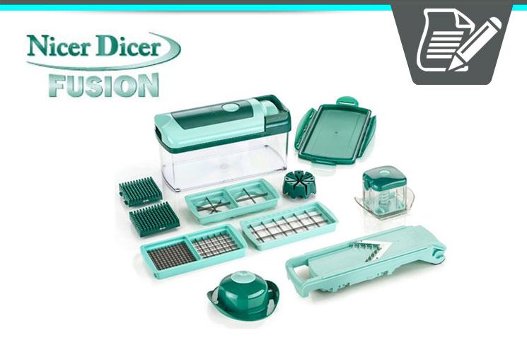 kitchen dicer slicer st charles cabinets genius nicer fusion review - smart multi-kitchen ...