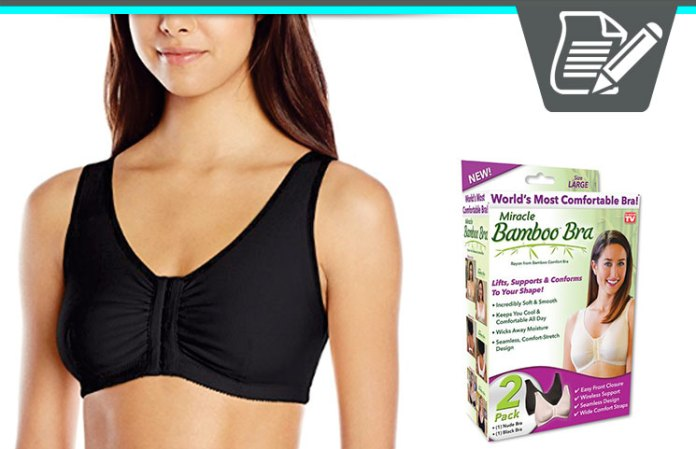 03ca7f2b4c6c2 Miracle Bamboo Bra Review - Comfortable Shape Lifting Support
