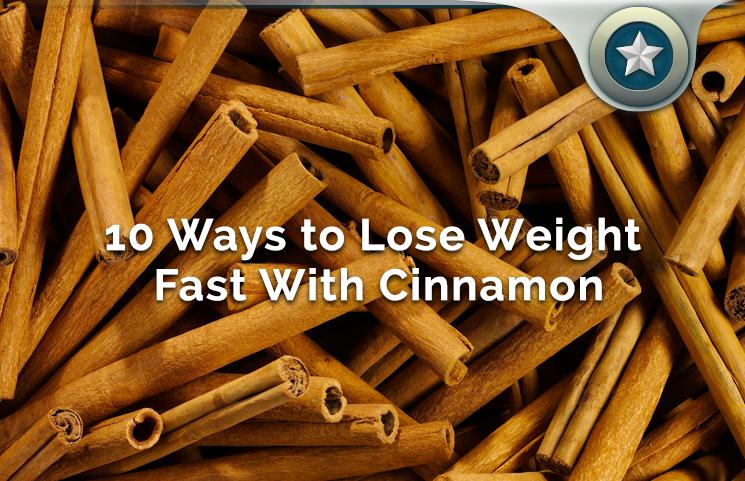 Cinnamon burns fat