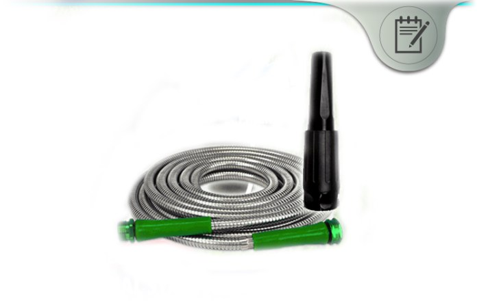 Metal Garden Hose Review Stainless Steel High Water