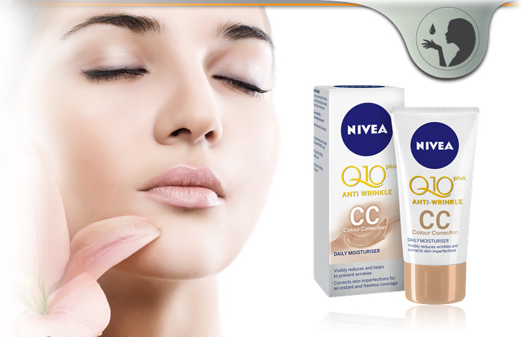 Nivea Q10 Anti Wrinkle CC Cream – Firming Hydrating Skincare?