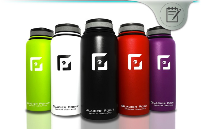 285b8d7053 Glacier Point Vacuum Insulated Stainless Steel Water Bottle Review